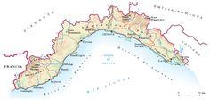 Regione dell'Italia settentrionale (5422 km2 con 1.615.064 ab. nel 2008, ripartiti in 235 Comuni; densità 298 ab./km2); il capoluogo di regione è Genova.  1. Caratteri fisici  La Liguria è regione per eccellenza montuosa e collinosa; vi si incontrano e saldano, infatti, le Alpi e l'Appennino. A O del Colle di Cadibona, che segna la più profonda intaccatura della catena spartiacque, si innalzano le Alpi Liguri. Di queste la parte occidentale, che giunge fino al Colle di Nava e ad Albenga…