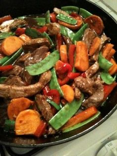 Garlicky Hoisin Beef Stir Fry