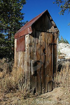 Abandoned Outhouse by Terrance Emerson