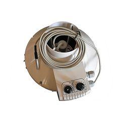 Aspiratore RVK 125mm –  355mc:h con Controllo  Temperatura e Velocità minima