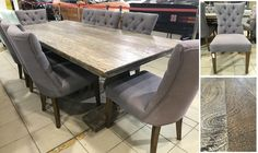We have some absolutely stunning furniture in the Super Sunday Online Auction! A great selection of lounges, chairs and dining sets - inspections are welcome between am to pm EVERY weekend Dining Sets, Dining Table, Super Sunday, Lounges, Absolutely Stunning, Auction, Chairs, Furniture, Home Decor