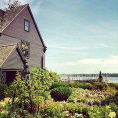 Seven Gables House,Salem,Massachusetts (view toward the ocean)