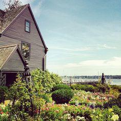 Seven Gables House,Salem,Massachusetts (view toward the ocean)