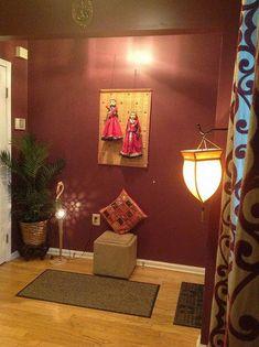 Trendy home diy wall decor hallways Ideas Hallway Wall Decor, Entrance Decor, Diy Wall Decor, Diy Home Decor, Bedroom Decor, House Entrance, Bedroom Colors, Ethnic Home Decor, Asian Home Decor