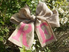 Exquisite Rustic Wedding Chair Bow Sashes by ChelsfieldFurnishing, £8.75