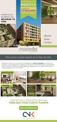 #NOVOCLICK esta con #marankal #ApartamentoEnBogotá