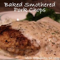 The Kim Six Fix: Southern Style Smothered Pork Chops (Baked)
