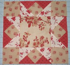 Ohio Star block with French General fabrics