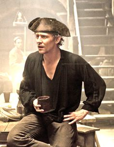 Pirate Tom. He doesn't steal gold, he steals women's hearts.