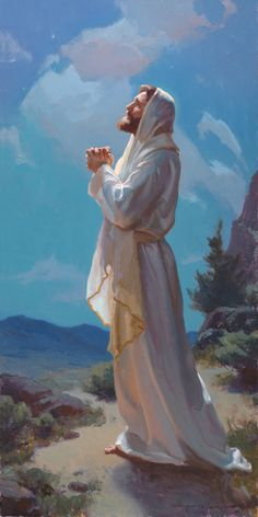"""To Be With God , 48x24"""", oil on board. Artwork by Michael Malm"""