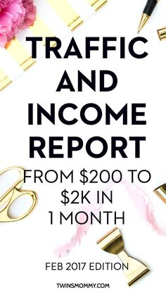 OMG! Are you a mom blogger and trying to make money online or with your blog? This blogging tip is so amazing and tells the blog income report in one month! | Affiliate marketing for bloggers | work from home | grow blog income