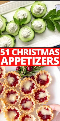 Christmas Finger Foods, Christmas Snacks, Christmas Brunch, Christmas Appetizers, Finger Food Appetizers, Easy Appetizer Recipes, Healthy Appetizers, Appetizers For Party, Party Food Buffet