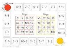 Einmaleins-Bingo-Brettspiel                              …
