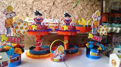 dragon ball z birthday party supplies - Buscar con Google