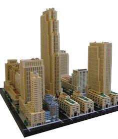 Micro Lego Skyscrapers