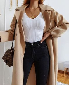 Winter Fashion Outfits, Fall Winter Outfits, Cute Casual Outfits, Stylish Outfits, Casual College Outfits, Looks Chic, Professional Outfits, Mode Inspiration, Aesthetic Clothes
