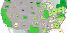 This brilliant map re-sizes each state proportionally to the size of its economy http://read.bi/1QSNzNY