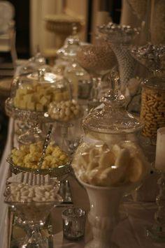 White & Silver Wedding Candy Buffet held in Sydney by Ooh La La Lolly Bars & Candy Buffets