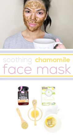 Chamomile is a great ingredient for skin care! It is one of the most beneficial herbal ingredients for sensitive skin, and one of the few that naturally and effectively calms redness and soothes irritated skin. You can make this mask with all ingredients you have at home: www.ehow.com/...