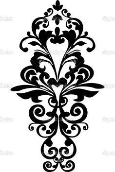 чёрно-белые силуэты продукты картинки для распечатки: 19 тыс изображений найдено в Яндекс.Картинках
