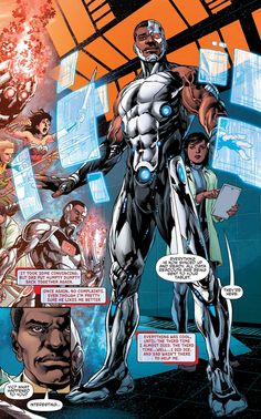 Cyborg screenshots, images and pictures - Comic Vine