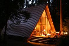 Idyllcreek A-Frame Vacation Cabin Southern California
