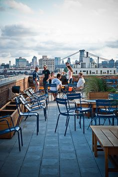 Rooftop Bar With Great View Wythe Hotel Brooklyn