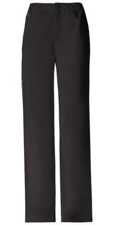 Dickies Xtreme Stretch : Men's Zipper Front Cargo Scrub Pant