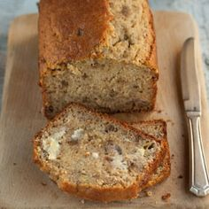 A recipe for a banana bread with walnuts by Sam Linsell. Banana Walnut Bread, Moist Banana Bread, Banana Bread Recipes, Bread Shop, Banana And Egg, Walnut Recipes, Deli Food, Banana Dessert, Home Baking