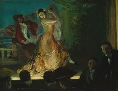 Spanish Music Hall - by Everett Shinn, 1902