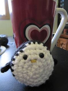 "Kawaii Penguin  - Free Amigurumi Crochet Pattern - PDF Version click ""download"" or ""free Ravelry download"" here: http://www.ravelry.com/patterns/library/oborocharm-amigurumi-penguin"