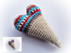Crochet Heart by mariamanuel on Etsy, $7.00