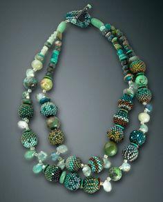 little-bb-neck-green-turq
