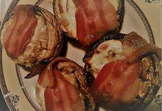 Füstölt sajttal töltött gomba Bacon, Pork, Meat, Kale Stir Fry, Pork Chops, Pork Belly