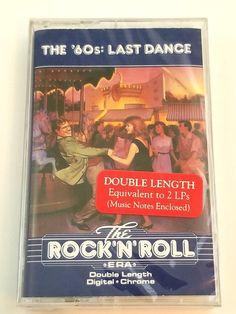 The Rock'N'Roll Era Last Dance Music Cassette Double Length Digital Chrome Rockn Roll, Last Dance, Dance Music, Music Notes, Lps, Chrome, Digital, Books, Ebay
