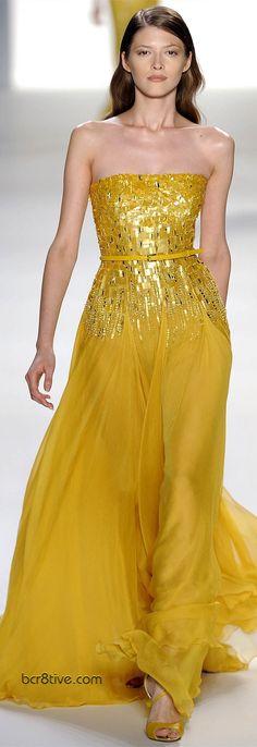 Gorgeous yellow gown  #yellow #melloyellow #yellowfashions