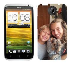 Custom Personalised HTC One X case/cover - Printed Create your own. €9.99, via Etsy.
