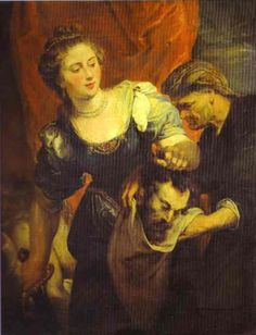 Judith with the Head of Holofernes - Peter Paul Rubens - Oil Painting Reproductions and Prints from Canvas Replicas Peter Paul Rubens, Pedro Pablo Rubens, Judith And Holofernes, Rubens Paintings, Oil On Canvas, Canvas Art, Ladies Of Metal, Google Art Project, Chicago Art