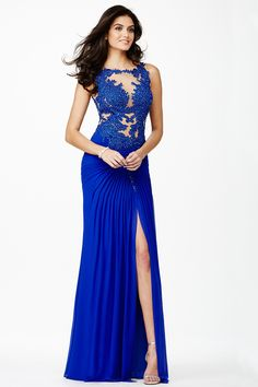 This blue is boldly beautiful #JVN 32210