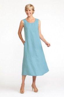 Pocketed Angled Dress (FLAX Bold 2013)