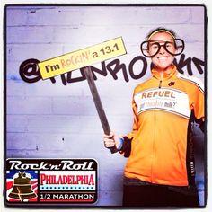 Go Dani go! Our @SPARKLYSOULINC elite ambassador @Dani Holmes-Kirk is running #rnrphilly tomorrow! #teamrefuel