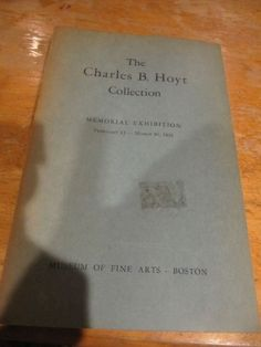 RARE CHARLES B. HOYT COLLECTION OF CHINESE ANTIQUES 1952 ILLUSTRATED CATALOGUE