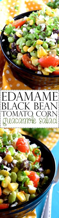 A delicious blend of black beans, corn, tomatoes, and edamame, all tossed with creamy guacamole. A delicious meal on its own, or stuffed into a burrito with some brown rice! In the beginning, there was Byron. And, Byron was perfect.…