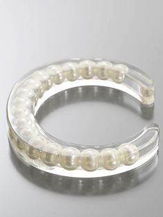 resin pearl bangle. if i ever get around to making that mold