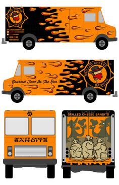 Grilled Cheese Bandits Food Truck - Chad Landenberger