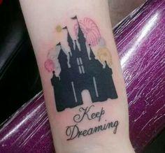 Keep dreaming disney tattoo