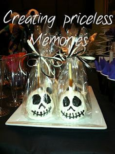 Our white chocolate Jack carmel apples by, creating priceless memories..turned out yummy and Perfect ! More images to come! Like us on facebook!