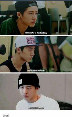 I was 10 in 2013 and I think I would've screamed if I saw Hanbin then Ikon Leader, Kim Hanbin Ikon, Sassy Diva, Double B, I Miss Him, Korean Music, Yg Entertainment, South Korean Boy Band, Bobby
