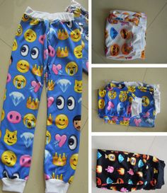 BrytCouture - Women Emoji Sweatpants, US$42.00 (http://www.brytcouture.com/women-emoji-sweatpants/)