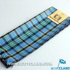 Weir Clan Tartan Wool Scarf